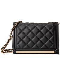 21250856773 Lyst - ALDO Ponteranica Clutch in Black