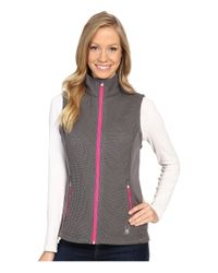 Spyder | Multicolor Melody Full Zip Mid Weight Core Sweater Vest | Lyst