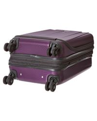 """Delsey - Purple Helium Shadow 3.0-19"""" International Carry-on Expandable Spinner Suiter Trolley - Lyst"""