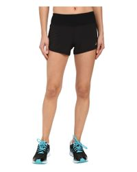 Asics | Black Everysport Shorts | Lyst