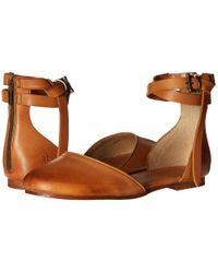 Frye | Brown Carson Knotted Ballet | Lyst
