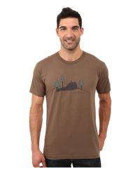 Toad&Co   Brown Weekend Cabin Short Sleeve Tee for Men   Lyst