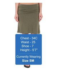 Carve Designs - Green Bennett Flirt Skirt - Lyst