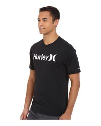 Hurley - Green Dri-fit One And Only Surf Tee for Men - Lyst