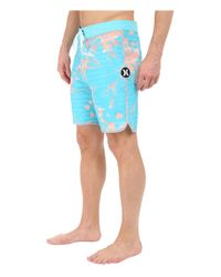 "Hurley - Blue Phantom Lark 19"" Boardshorts for Men - Lyst"