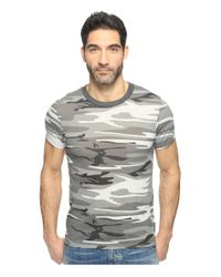 Alternative Apparel | Gray Eco Crew T-shirt for Men | Lyst