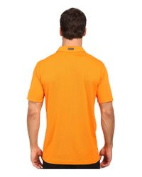 PUMA - Yellow Ess Pounce Polo for Men - Lyst