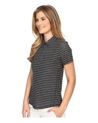 Adidas Originals - Natural Cottonhand Stripe Polo - Lyst