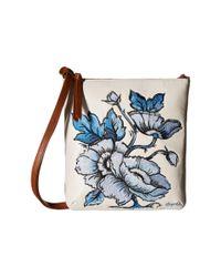 Brighton - Blue Bella Capri Embroidered Pouch - Lyst