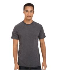 Billabong - Black Essential Tailored Tee for Men - Lyst