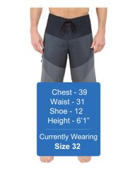 "Billabong - Black Fluid X 21"" Boardshorts for Men - Lyst"