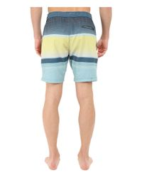 "Billabong - Blue Spinner Lay Back Elastic 19"" Boardshorts for Men - Lyst"