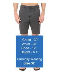 "Billabong - Black New Order X 19"" Hybrid Shorts for Men - Lyst"