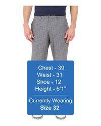 Travis Mathew - Gray Red Steile Shorts for Men - Lyst