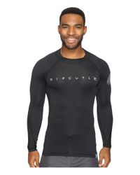 Rip Curl | Black Dawn Patrol Uv Tee Long Sleeve for Men | Lyst