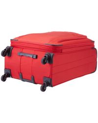 """Delsey - Red Helium Sky 2.0 25"""" Exp. Spinner Trolley - Lyst"""