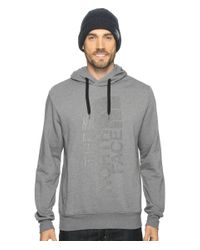 The North Face | Gray Trivert Pullover Hoodie for Men | Lyst