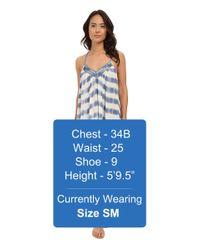 Amuse Society - Blue Sass Dress - Lyst