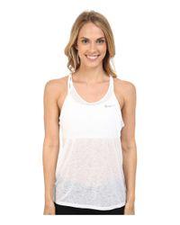 Nike   White Dri-fittm Cool Breeze Strappy Running Tank Top   Lyst