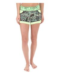 Maaji - Green Flash Stone Active Shorts - Lyst