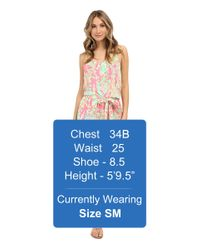 Lilly Pulitzer - Multicolor Deanna Romper - Lyst