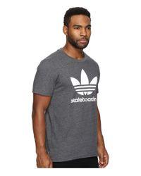 Adidas Originals - Gray Clima 3.0 Tee for Men - Lyst