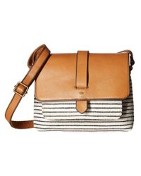 Fossil | Brown Kinley Small Crossbody | Lyst