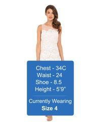 RSVP - White Alsace Lace Dress - Lyst