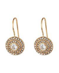 Lauren by Ralph Lauren | Metallic Vintage Crystal Drop Earrings | Lyst