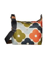 Orla Kiely - Multicolor Giant Flower Spot Print Large Crossbody Bag - Lyst
