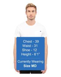 G-Star RAW - White Ratiz Short Sleeve Pocket Tee In Compact Jersey for Men - Lyst