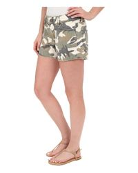 DL1961 - Multicolor Renee Cut Off Shorts In Canteen - Lyst