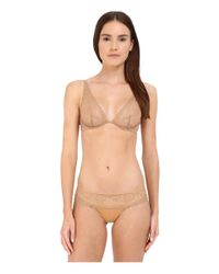 La Perla - Brown Rosa Brief - Lyst