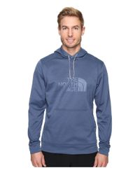 The North Face   Blue Ampere Pullover Hoodie for Men   Lyst