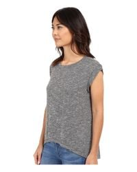Culture Phit - Gray Mayce T-shirt Sweater With Pocket - Lyst
