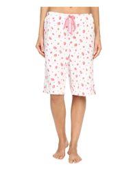 Carole Hochman - Red Key Item Bermuda Pajama - Lyst