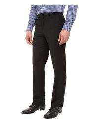 Dockers Black Flat Front Straight Fit Dress Pants for men