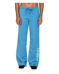 Life Is Good. | Blue ® Script Fleece Lounge Pants | Lyst