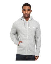 Converse | Gray Core Full Zip Hoodie for Men | Lyst