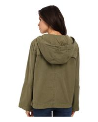 Free People - Green Safari Pullover - Lyst