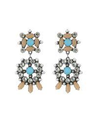 DANNIJO | Metallic Lagos Earrings | Lyst