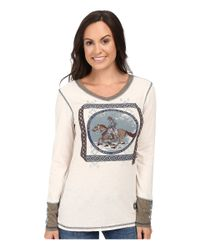 Double D Ranchwear | Multicolor Gaucho And His Horse Tee | Lyst