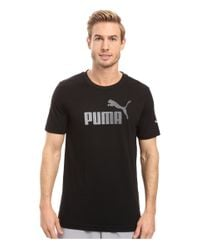 PUMA | Black Archive Life Tee for Men | Lyst