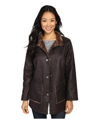 Dylan By True Grit | Multicolor Easy Rider Vintage Faux Leather Reversible Coat W/ Snap Closure And Pockets | Lyst