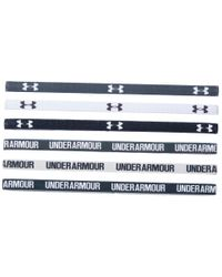 Under Armour | White Ua Graphic Mini Headband 6-pack | Lyst