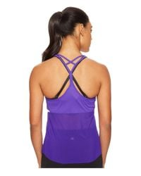 New Balance | Purple Ice Hybrid Tank Top | Lyst