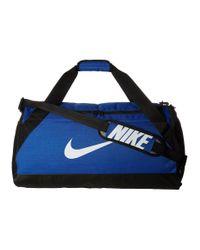 Nike | Blue Brasilia Medium Duffel Bag for Men | Lyst
