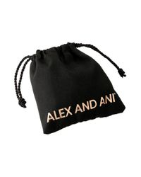 ALEX AND ANI - Metallic Denim Heritage Wrap - Lyst