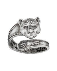 ALEX AND ANI - Blue Spoon Ring Wild Heart - Lyst