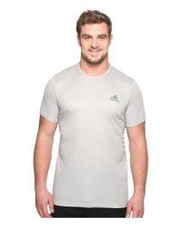 Adidas Originals | Gray Essentials Tech Tee - Big & Tall for Men | Lyst
